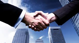 Business partner with investment