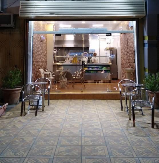مطعم وجبات سريعة للتقبيل