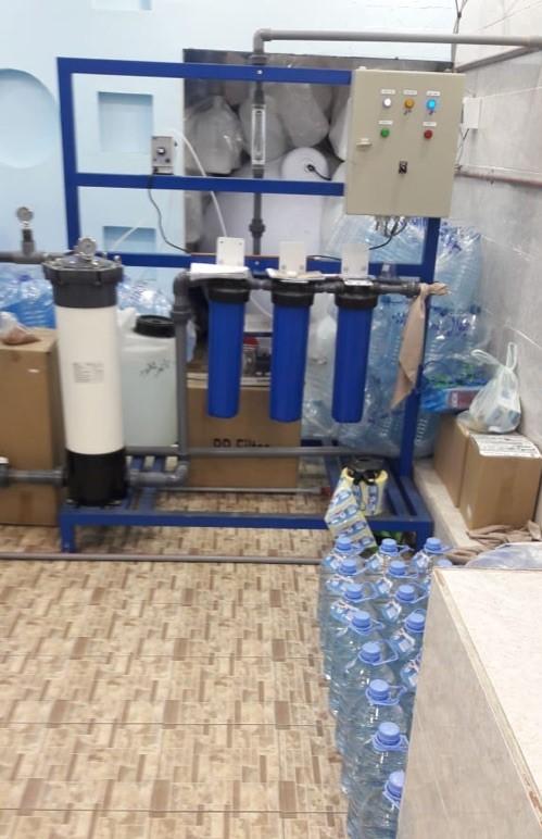 للتقبيل/البيع محل تحلية مياه