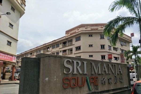 Unfurnished Shop-Office For Sale At Sri Manja Square 2, Taman Sri Manja