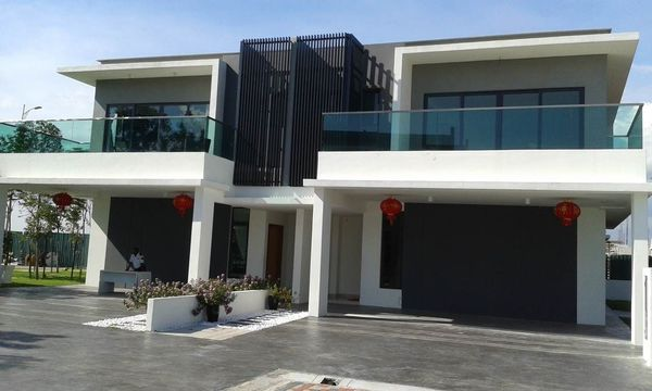 Unfurnished Semi-Detached For Sale At Corallia, D'Island