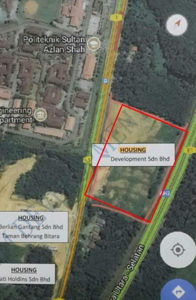 Residential Land For Sale At Taman Hulu Bernam, Tanjung Malim
