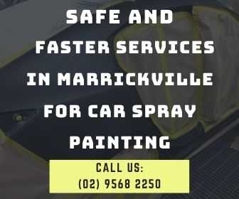 Spray Painting - Safe Faster Service in Marrickville