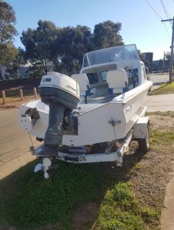 Boat Half Cabin For Sale