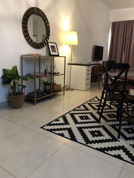 Partially Furnished Condominium For Sale At Pelangi Utama, Kayu Ara