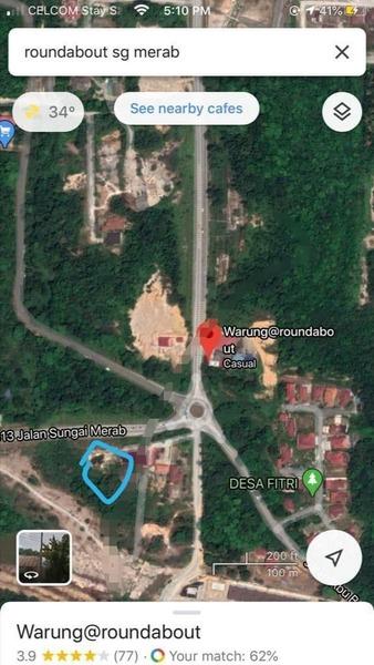 Residential Land For Sale At Sungai Merab, Bangi