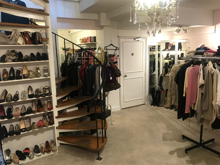 Pre-owned Designer Clothing Store for Sale
