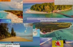 250 Acre Island Resort in Pulau Mengalum, KK for Sale