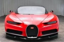 2019 Bugatti Chiron with 323 miles