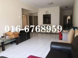 MYR 329000 - 3 BR - Tiara Intan Condominium in Ampang Bukit Indah For Sale