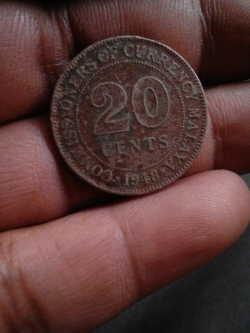 Malaysian Old Coin and Note from 1948 to 1990