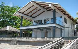 2 Storey Beachfront House and Lot