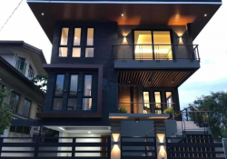 3 Storey Modern House and Lot for Sale at Woodridge Heights in Marikina City.