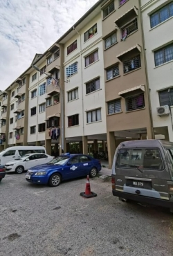 Partially Furnished Low-Cost Flat For Sale At Mutiara Rini, Skudai