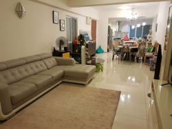 Partially Furnished Condominium For Sale At Villa Orkid, Bukit Prima Pelangi
