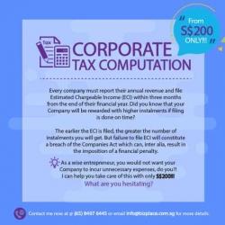 Accounting, Iras Tax, Corporate Secretary Service