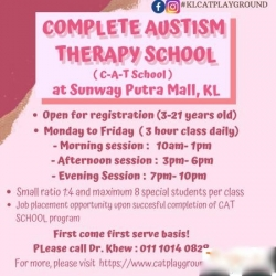 Complete Autism Theraphy School ( C-A-T SCHOOL) TTDI
