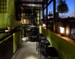 Cafe Lounge with Terrace and Private Dining Area For Sale