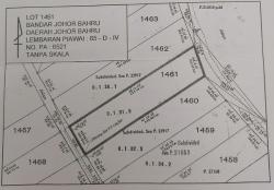 Residential Land For Sale At Johor Bahru, Johor