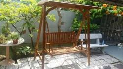Teak wood Outdoor Swing