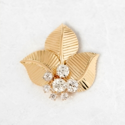 Cartier - YELLOW GOLD PIN & BROOCHE