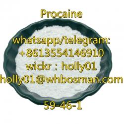 99% Good Quality Procaine CAS 59-46-1 Procaine Powder with Safe Delivery 51-05-8