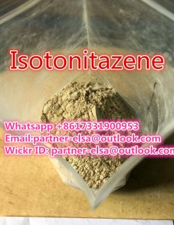 Isotonitazene CAS 14188-81-9 ,Etizolam powder best supplier  Whatsapp +8617331900953