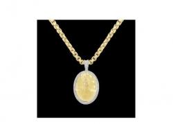 Exotic Diamonds - Virgin mary diamond pendant